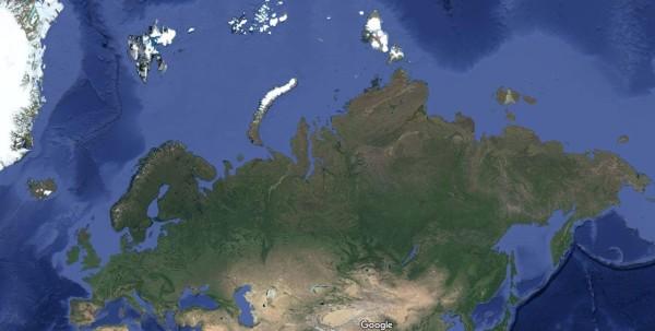 Image: Russia's Arctic coastline