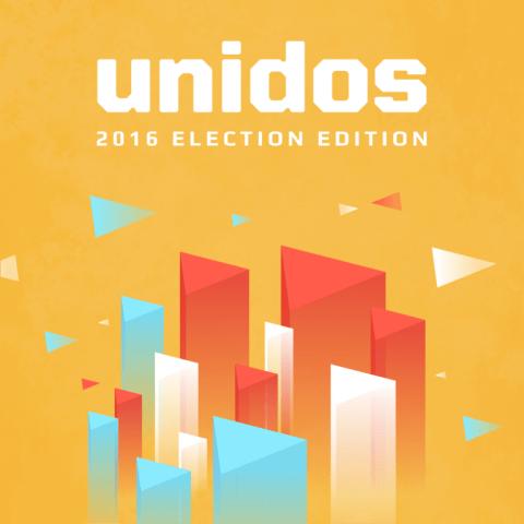 The Unidos voter registration app.