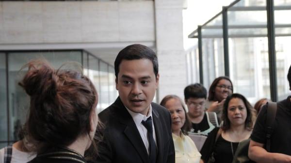 John Lloyd Cruz at the New York Asian Film Festival, July 2, 2016