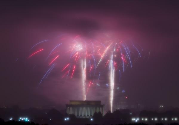 IMAGE: D.C. fireworks
