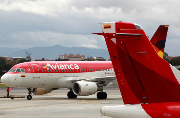 Image: Avianca planes in Bogota, Colombia