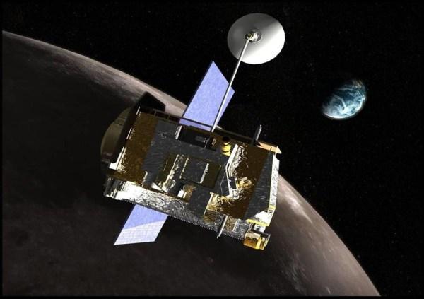 Image: Artist's rendering of LRO spacecraft