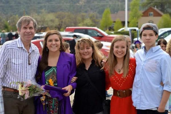 Image: Clarke family