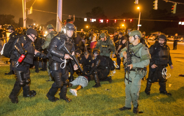 Image: Protests Continue In Baton Rouge After Police Shooting Death Of Alton Sterling