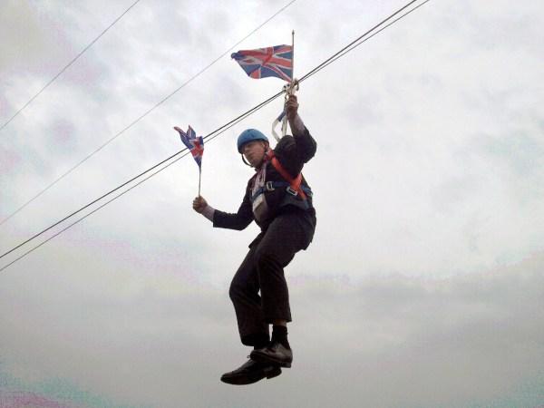 Image: Boris Johnson in 2012