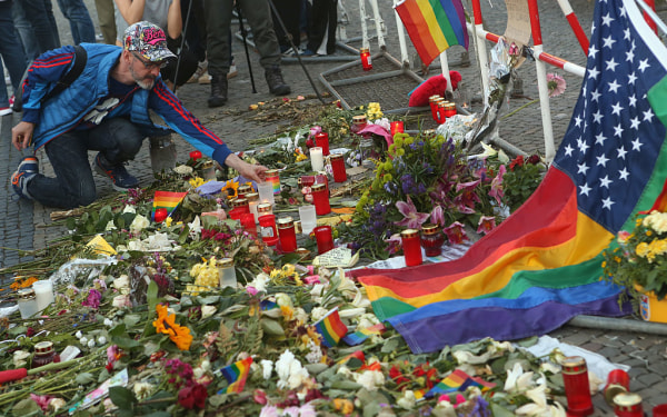 Vigil For Orlando Massacre Victims