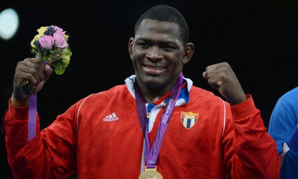 Gold Medalist Cuban Mijain Lopez Nunez p