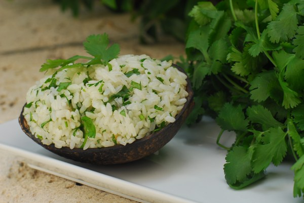 Coconut Rice and Cilantro by Jacqueline Kleis