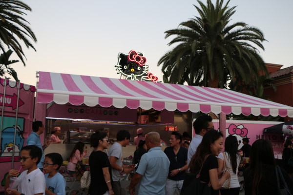 Hello Kitty Cafe in Irvine, Calif. opens July 15, 2016