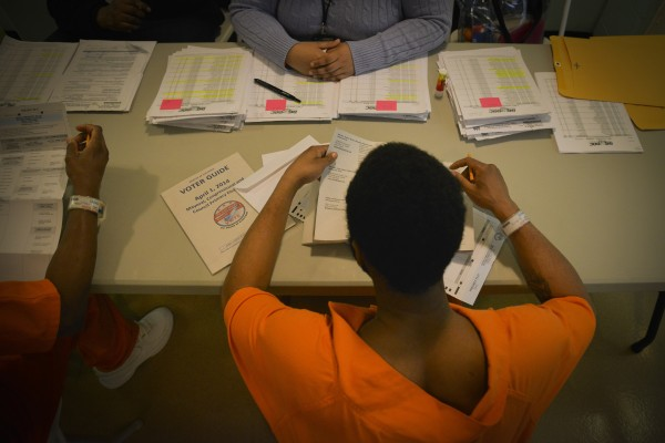 Early Voting in DC:  The Inmate Vote