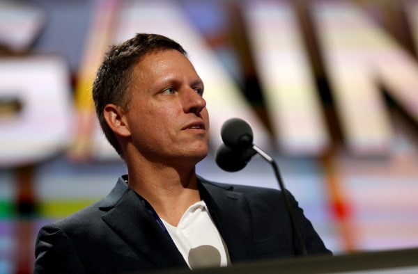 Thiel at 2016 Republican National Convention