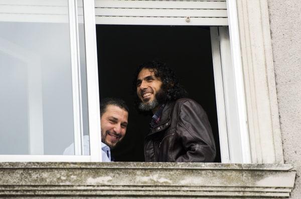 Image: Adel bin Muhammad El Ouerghi (left) and Abu Wa'el Dhiab (right)