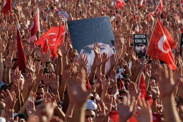 Image: TURKEY-POLITICS-MILLITARY-COUP-DEMO