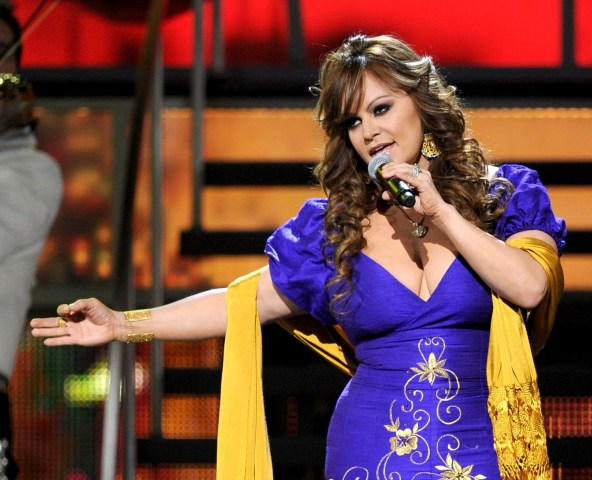 Singer Jenni Rivera performs onstage during the 11th annual Latin GRAMMY Awards