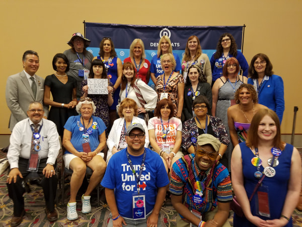 Transgender Delegates at the DNC