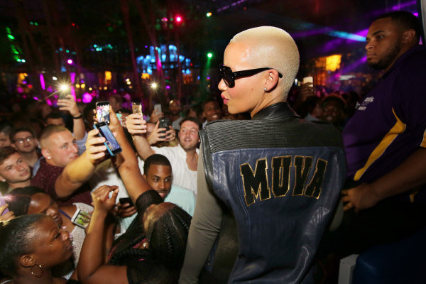 Amber Rose Hosts The Pool After Dark