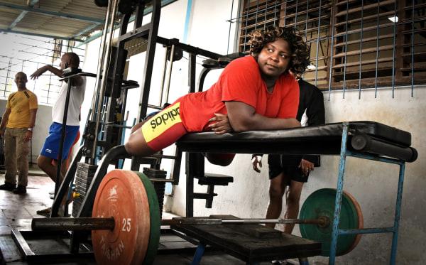 Cuban Olympic Judo Champion Idalis Ortiz