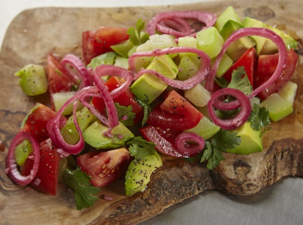 Chayote, Avocado,and Tomato recipe by Jacqueline Kleis