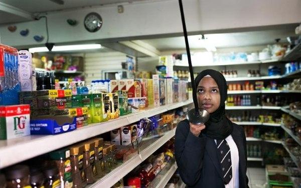 Image: Muslim Girls Fence