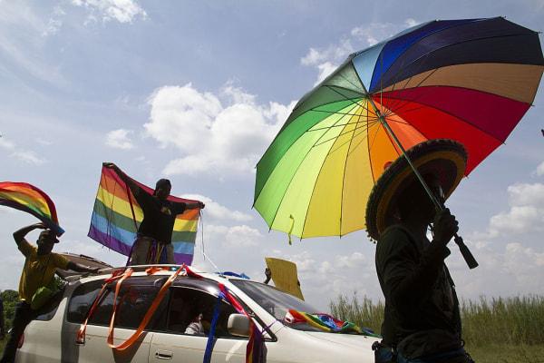 UGANDA-POLITICS-GAY-DEMO