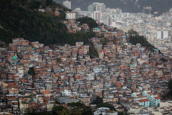 Image: Favelas in Rio de Janeiro