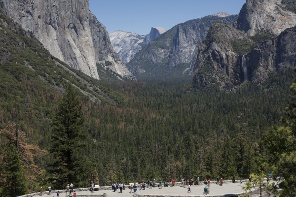 Image: Tunnel View is one of Yosemite National Park's iconic vistas.