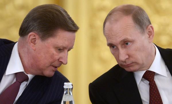 Image: Sergei Ivanov and Vladimir Putin