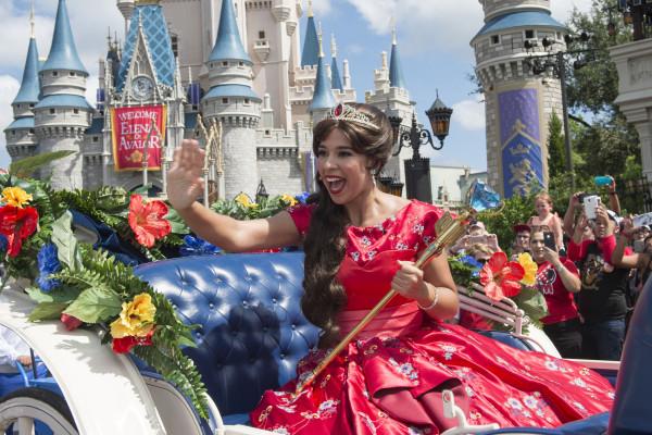 Image: Princess Elena Of Avalor Arrives At Walt Disney World