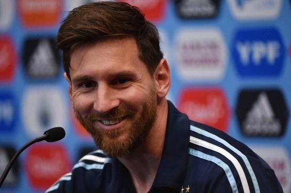 Lionel Messi - Argentina Press Conference