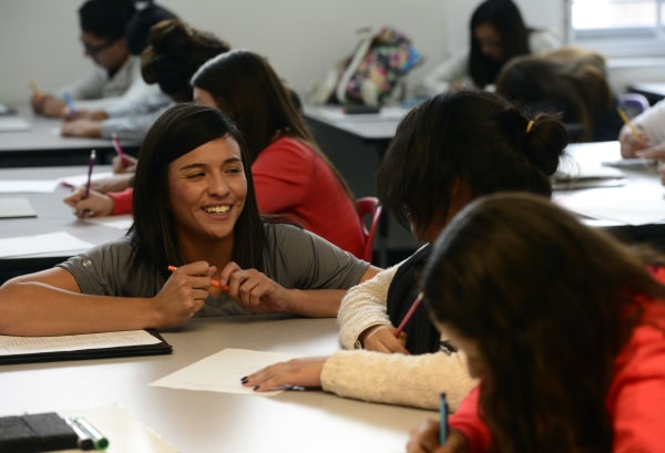 Marissa Molina teaches Spanish for Native Speakers for ninth and tenth graders at DSST Green Valley Ranch High School in Denver.