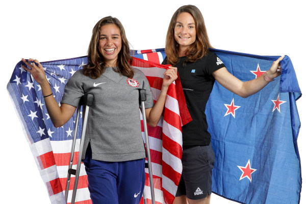 D'Agostino, Hamblin Discuss Olympic Moment During 5000m