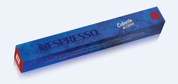 Nestles Nespresso Now Selling Cuban Coffee for US  -> Nespresso Nestle