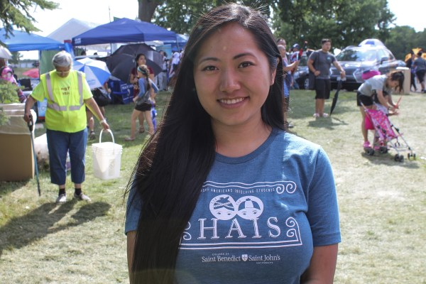 Beth Vang, student at the College of Saint Benedict and Saint John's University majoring in communications