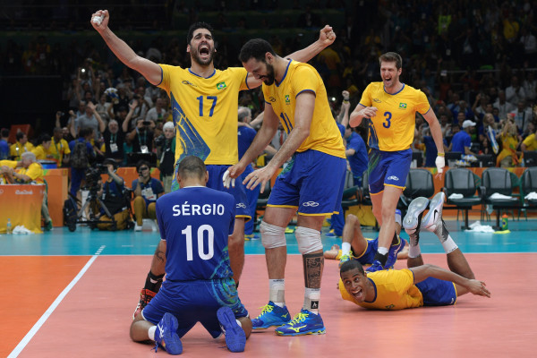 Brazil Wins Against Italy in Olympic Men's Volleyball Final