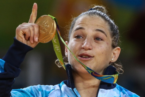 Paula Pareto Wins Gold In Rio - Judo