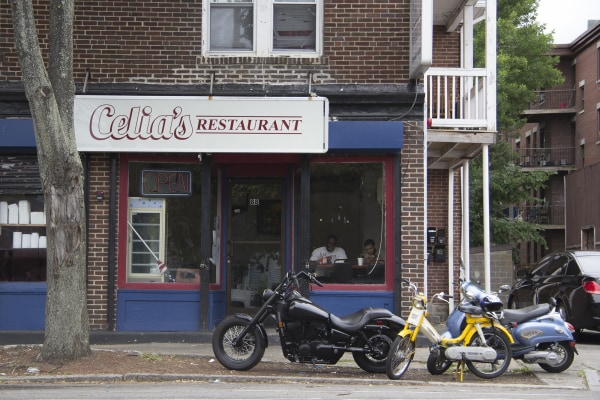 Celiaas, a restaurant in the Point neighborhood in Salem, Massachusetts.