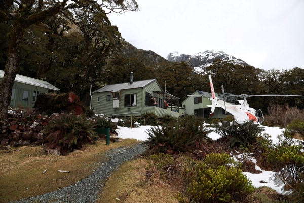 Image: Lake Mackenzie Hut