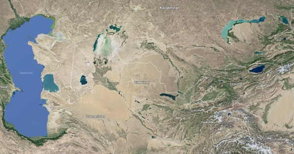 Image: Map of Central Asia