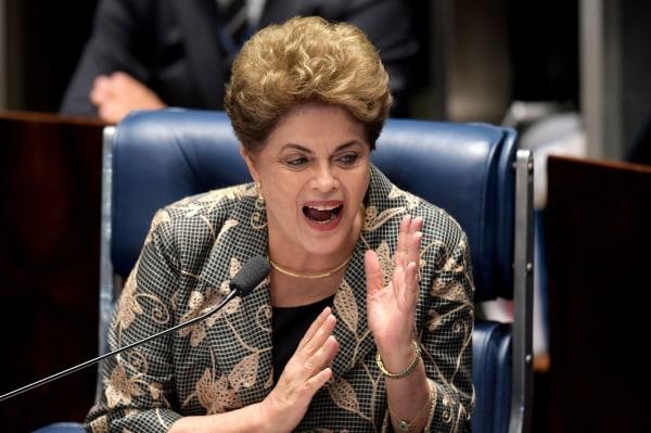 Image: BRAZIL-IMPEACHMENT-TRIAL-ROUSSEFF