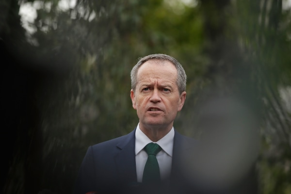 Labor Leader Bill Shorten Visits Western Sydney As Australia Waits On Election Result
