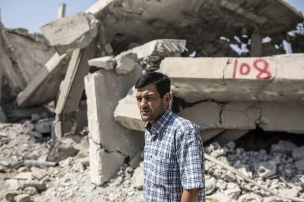 Image: Abdullah Kurdi, father of three-year-old Aylan Kurdi