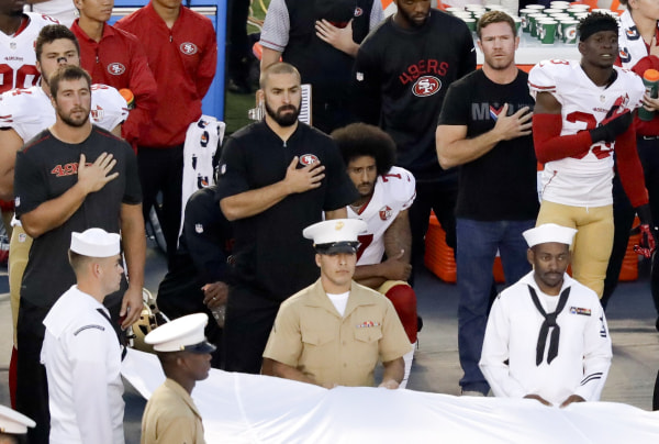 Image: San Francisco 49ers quarterback Colin Kaepernick