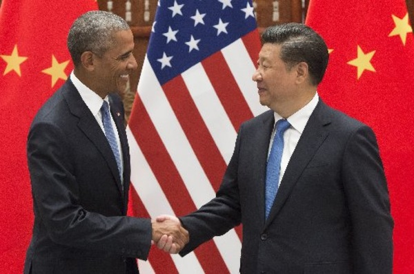 Image: President Barack Obama and Chinese President Xi Jinping