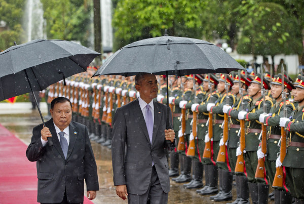 Image: Bounnhang Vorachit, Barack Obama