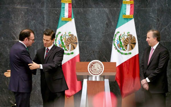 Image: MEXICO-FINANCE-ECONOMY-VIDEGARAY-MEADE