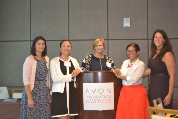 People attend the Avon Breast Cancer Crusade's biennial Breast Cancer Forum in Miami