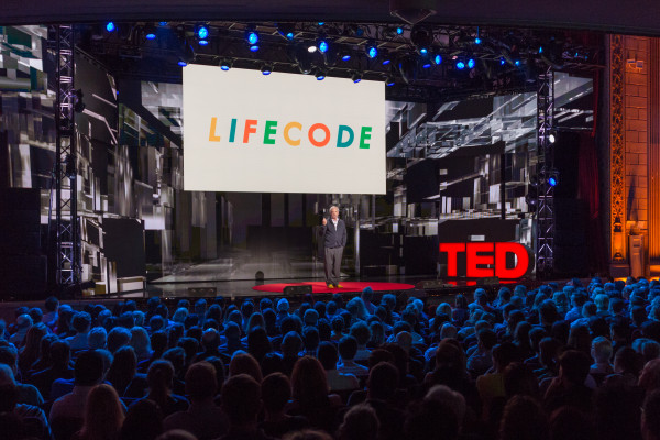 Juan Enrique speaks at TED Talks Live -- Science and Wonder, November 5-6, 2015, The Town Hall, New York City.
