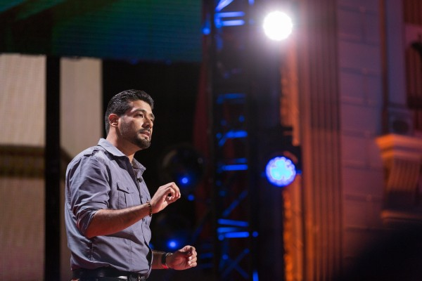 Victor Rios speaks at TED Talks Live -- Education Revolution, November 2, 2015, The Town Hall, New York City.