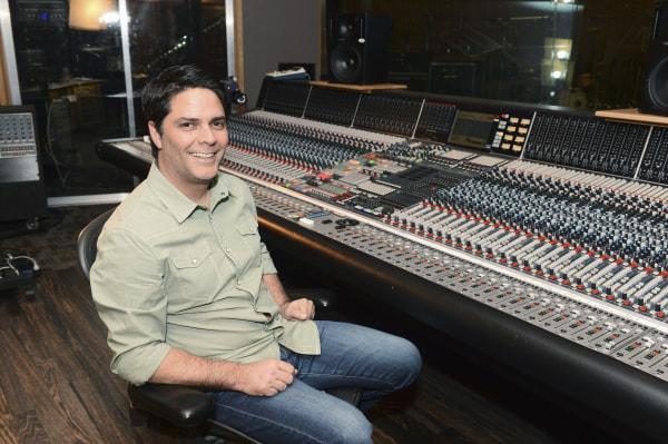"""Elena of Avalor"" recording session with Tony Morales."