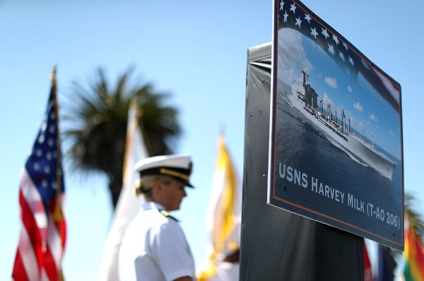 US Navy Ship Naming Honors And San Francisco Icon Gay Activist Harvey Milk